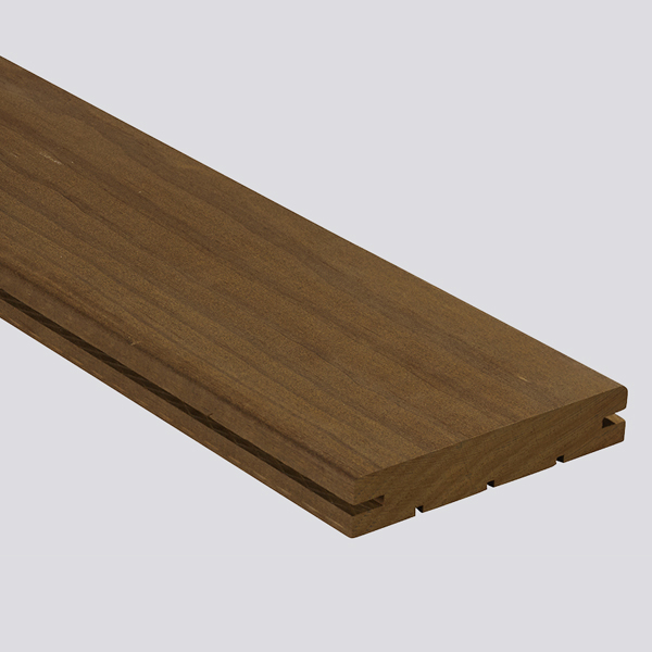 Clear Weatherproof Decking 120mm with side slit | 2486
